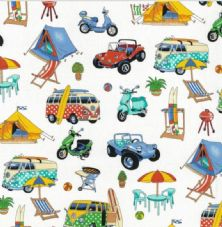 Nutex Getaway Beachside Fabric